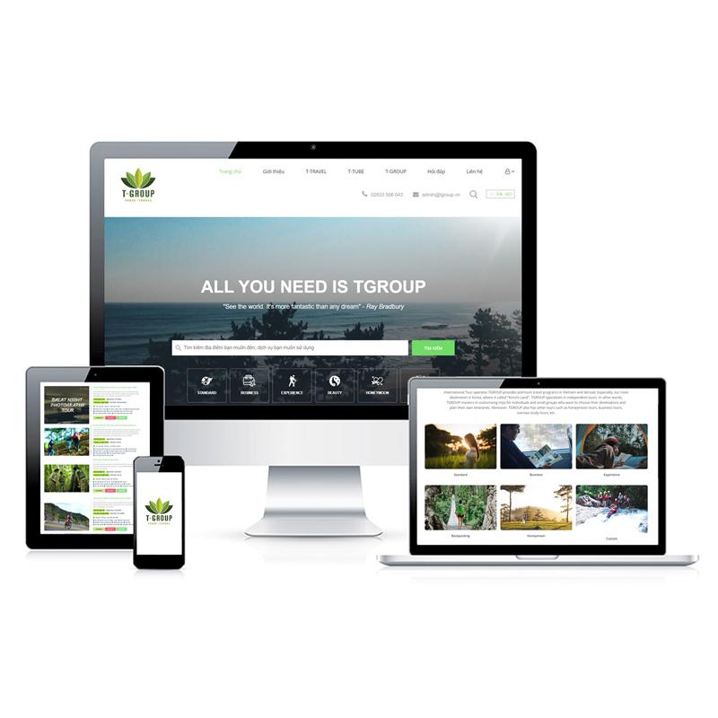 Website Du lịch EN.TGROUP.VN