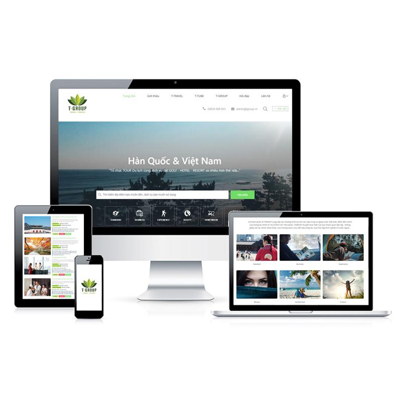 Website Du lịch TGROUP.VN